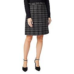 Precis - Petite check skirt