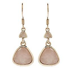 Jacques Vert - Semi precious cluster earrings