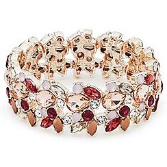 Jacques Vert - Mixed colour stretch bracelet
