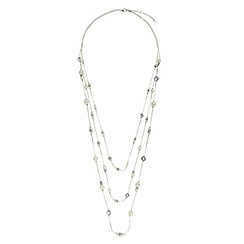 Jacques Vert - Pearl long rope necklace