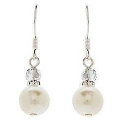 Jacques Vert - Pearl drop earrings