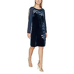 Jacques Vert - Devore velvet tunic dress