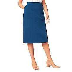 Eastex - Textured pencil skirt