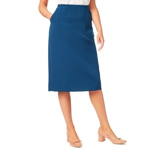 Eastex Textured pencil skirt