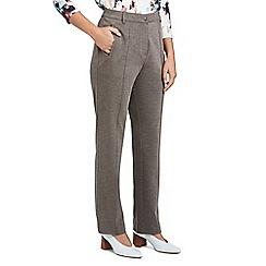 Eastex - Ponte straight leg trousers