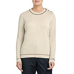 Eastex - Contrast tippped jumper