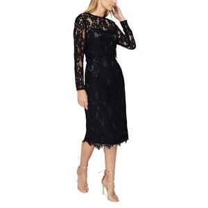Jacques Vert High neck lace dress