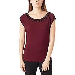 Precis - Petite pretty embellished t-shirt