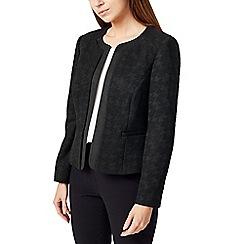 Precis - Petite houndstooth jacket