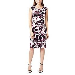 Precis - Petite shadow floral dress