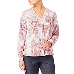 Eastex - Mineral texture print blouse