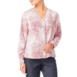Eastex Mineral texture print blouse