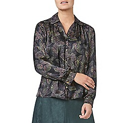Eastex - Leaf print blouse