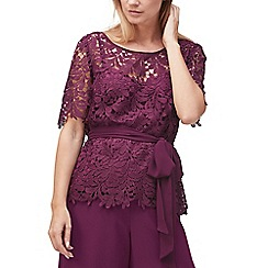 Jacques Vert - Robin lace belted top