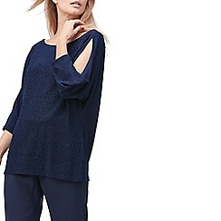 Jacques Vert - Alanna sparkly cowl back top