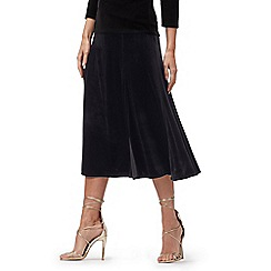 Jacques Vert - Renee velvet and chiffon skirt
