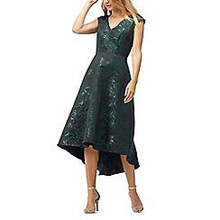 Jacques Vert - Jacquard high low dress