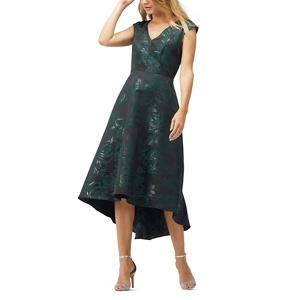 Jacques Vert Jacquard high low dress