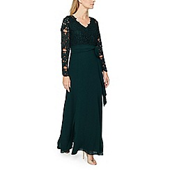 Jacques Vert - Lace top maxi dress