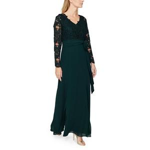 Jacques Vert Lace top maxi dress