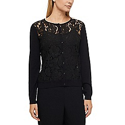 Jacques Vert - Emmy lace front cardigan