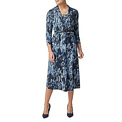 Eastex - Tapestry print jersey dress