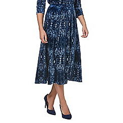 Eastex - Velvet tapestry skirt