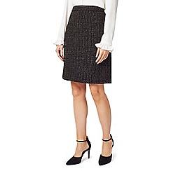 Precis - Petite tweed boucle skirt