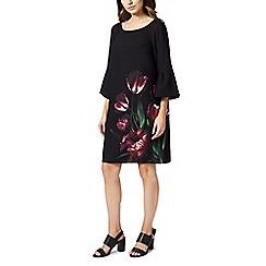 Precis - Petite tulip flute sleeves dress