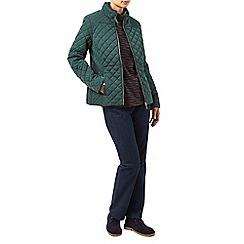 Dash - Quilt ribside coat