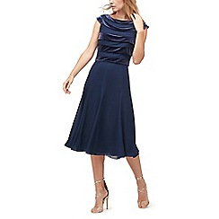 Jacques Vert - Velvet layer panel dress