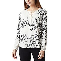 Precis - Petite mono blossom blouse