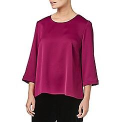 Eastex - Pink satin blouse