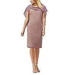 Jacques Vert - Drape cape dress