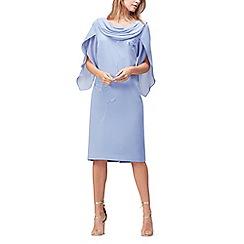 Jacques Vert - Embroidered drape dress