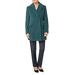 Eastex - Teal wool coat