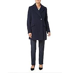 Eastex - Classic navy wool coat