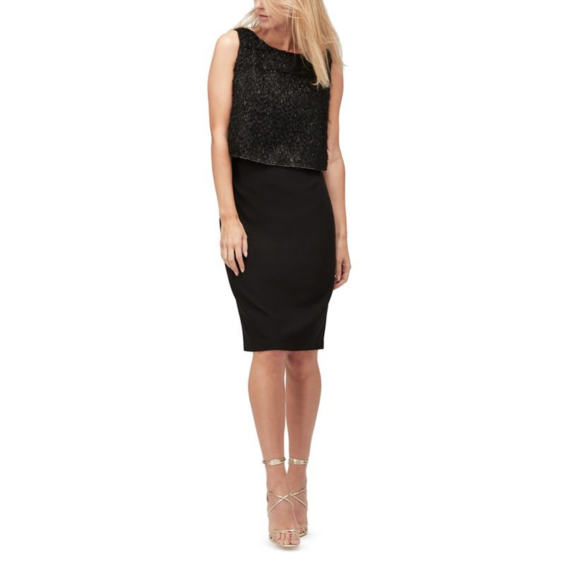 Jacques Vert Harriet sparkle layer dress