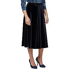 Eastex - Velvet flared skirt
