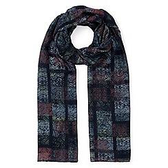 Eastex - Stippled check scarf