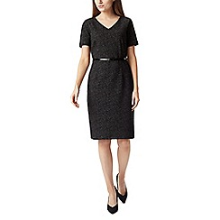 Precis - Petite textured mono dress