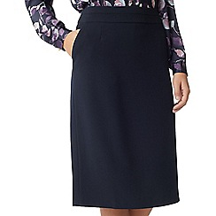 Eastex - Crepe pencil skirt