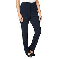 Eastex - Crepe straight leg trousers