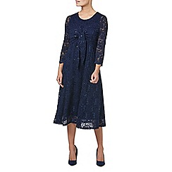 Eastex - Two in one sequin lace dress