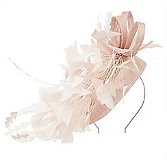 Jacques vert - Small feather fascinator