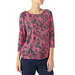 Dash - Tapestry stripe top
