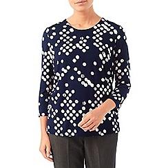 Eastex - Spot print jersey top