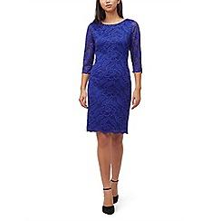 Precis - Petite 2 tone lace dress