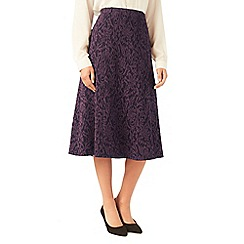 Eastex - Textured ponte skirt