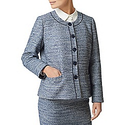 Eastex - Tweed round neck jacket